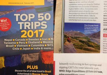 tajikistan in wanderlusts top 50 trips list